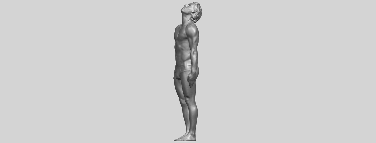 TDA0727_Naked_Man_Body_01A03.png Download free STL file Naked Man Body 01 • 3D printable object, GeorgesNikkei