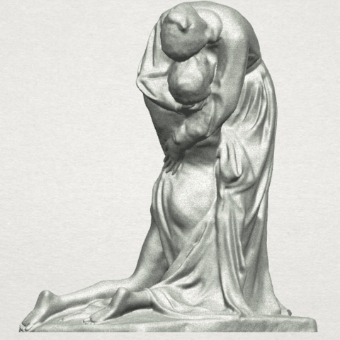 TDA0272 Forgive (rough) A02.png Download free STL file Forgive • 3D printing model, GeorgesNikkei