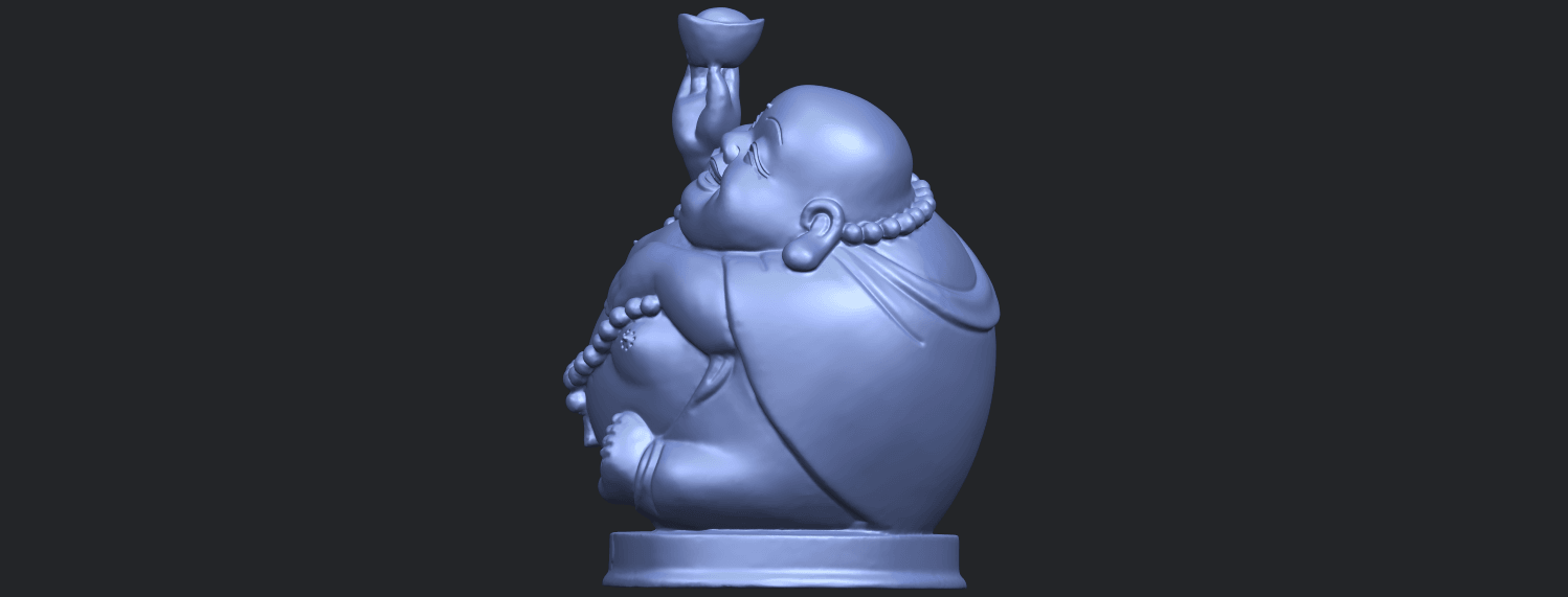 18_Metteyya_Buddha_07_-_88mmB04.png Download free 3DS file Metteyya Buddha 07 • 3D printer model, GeorgesNikkei