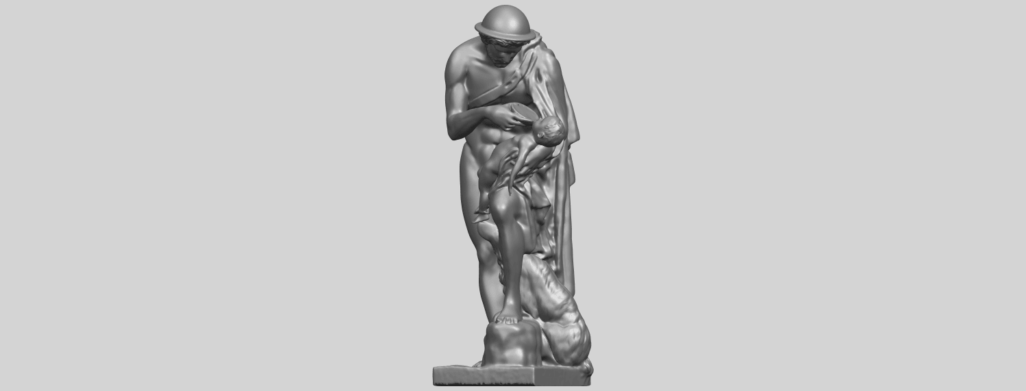 20_TDA0221_Father_and_Son_(iii)_88mmA02.png Download free STL file Father and Son 3 • 3D print model, GeorgesNikkei