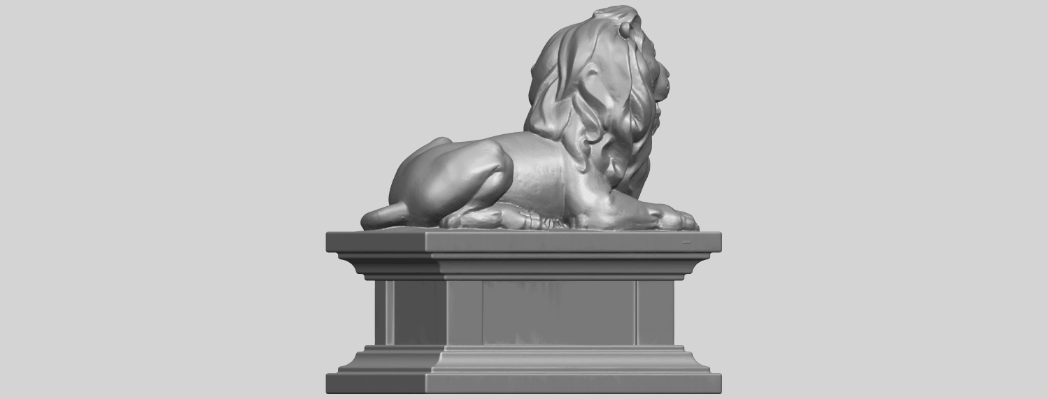 01_TDA0499_Lion_04A08.png Download free STL file Lion 04 • Template to 3D print, GeorgesNikkei