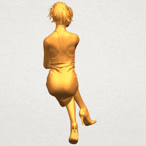 A10.png Download free STL file Naked Girl H04 • 3D printing object, GeorgesNikkei