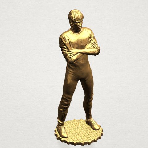Bruce Lee A09.png Download free STL file Bruce Lee • 3D printing design, GeorgesNikkei