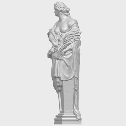 12_TDA0260_Sculpture_AutumnA03.png Download free STL file Sculpture - Autumn • 3D print template, GeorgesNikkei