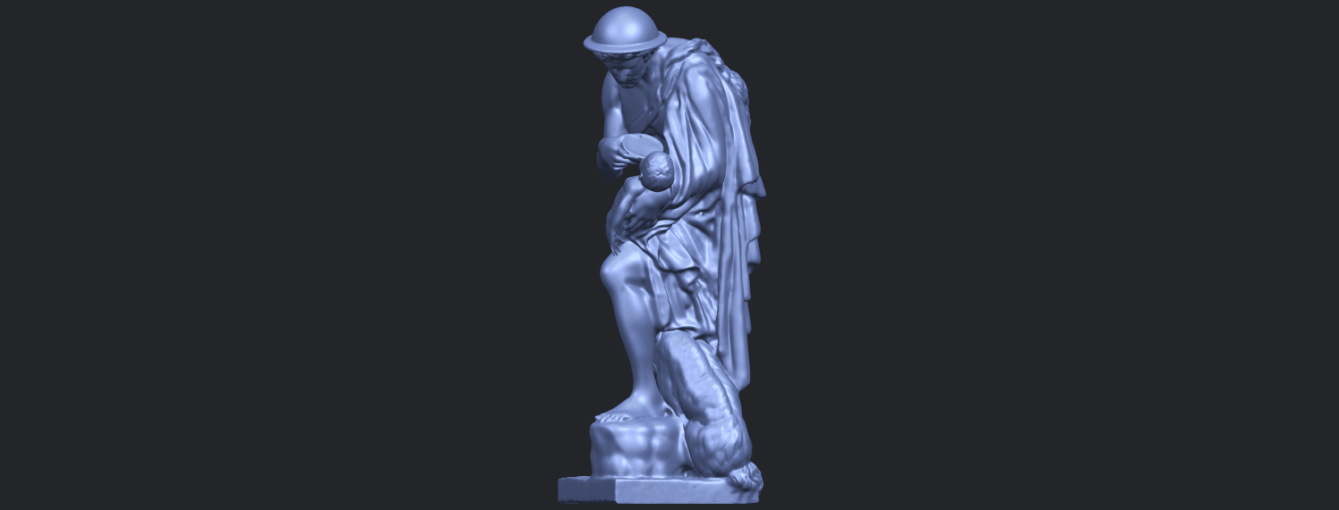 20_TDA0221_Father_and_Son_(iii)_88mmB03.png Download free STL file Father and Son 3 • 3D print model, GeorgesNikkei