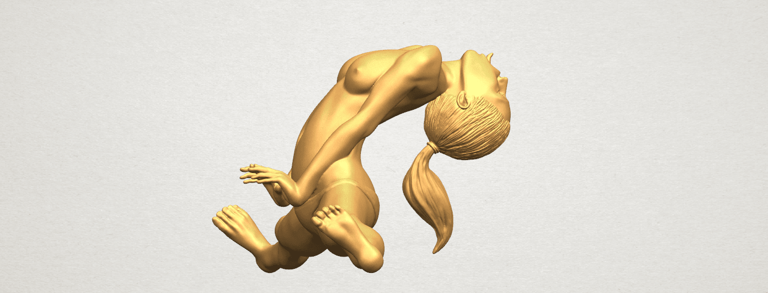 TDA0562 Naked Girl 20 open leg a05.png Download free STL file Naked Girl 20 open leg • 3D printable template, GeorgesNikkei
