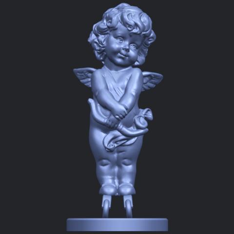 16_TDA0479_Angel_Baby_02B01.png Télécharger fichier STL gratuit Bébé Ange 02 • Plan pour imprimante 3D, GeorgesNikkei