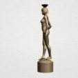 Naked girl-vase-B03.png Download free STL file Naked Girl with Vase on Top (i) • 3D print template, GeorgesNikkei
