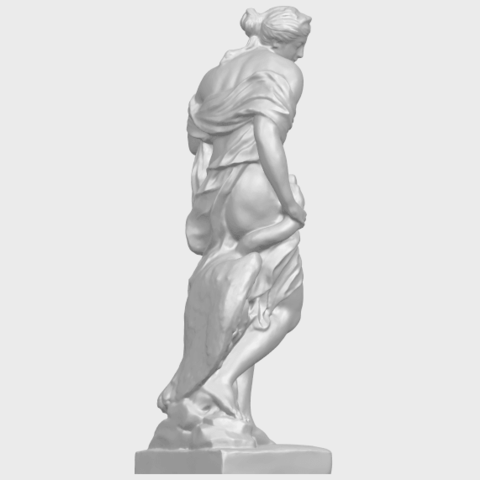25_TDA0173_Naked_Girl_with_Goose_88mmA08.png Download free STL file Naked Girl with Goose • 3D print template, GeorgesNikkei