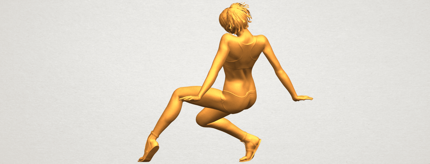 A05.png Download free STL file Naked Girl G03 • 3D print object, GeorgesNikkei