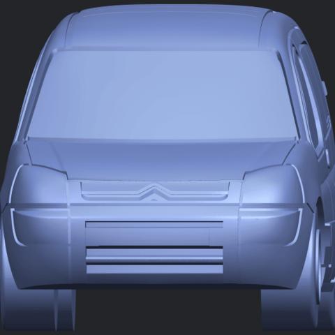 TDB002_1-50A09.png Download free STL file Citroen Berlingo Belgium Post • Design to 3D print, GeorgesNikkei