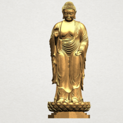 Free 3D printer model Gautama Buddha Standing 02, GeorgesNikkei