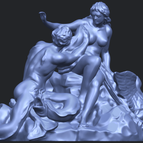 28_TDA0166_Naked_Couple_viB09.png Download free STL file  Naked Couple 06 • 3D printing object, GeorgesNikkei