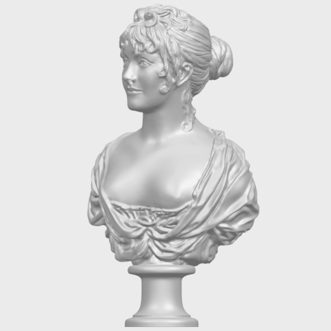24_TDA0201_Bust_of_a_girl_01A02.png Download free STL file Bust of a girl 01 • Object to 3D print, GeorgesNikkei