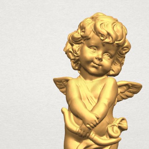 TDA0479 Angel Baby 02 A06.png Télécharger fichier STL gratuit Bébé Ange 02 • Plan pour imprimante 3D, GeorgesNikkei