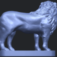 02_TDA0313_Lion_(iii)B06.png Download free STL file Lion 03 • 3D printable template, GeorgesNikkei