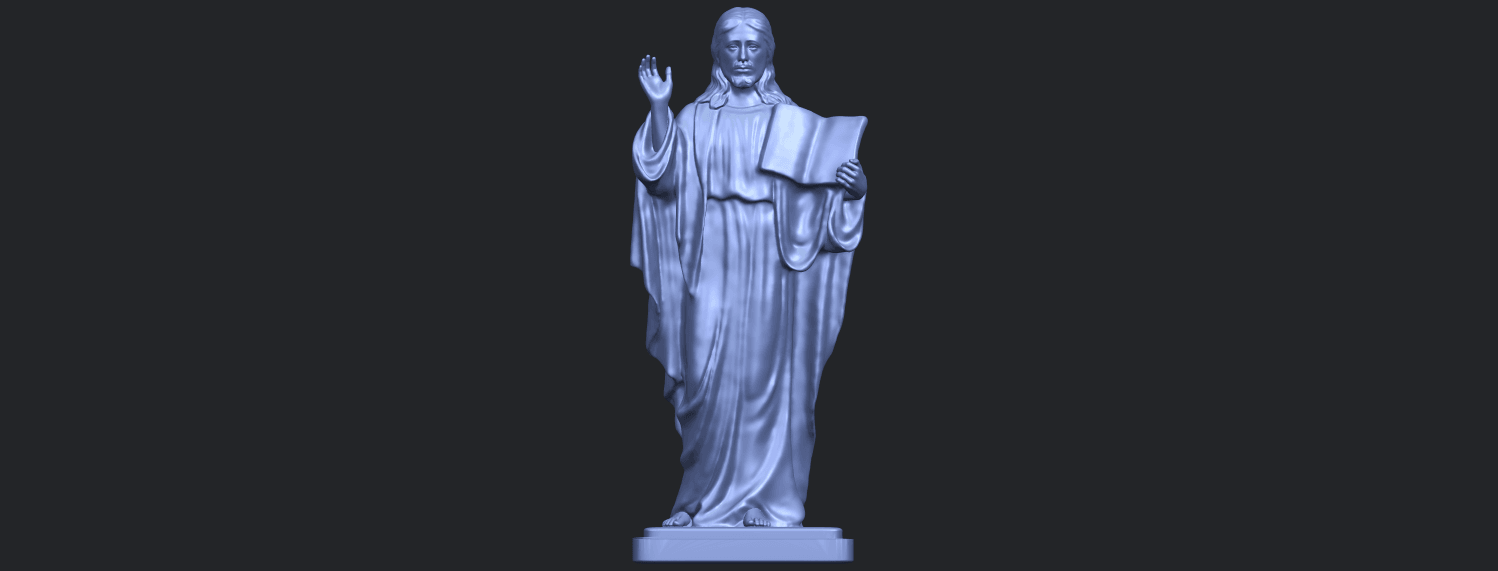 19_TDA0237_Jesus_vB01.png Download free STL file Jesus 05 • 3D print object, GeorgesNikkei