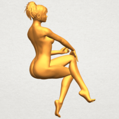 Download free 3D printing models Naked Girl H01, GeorgesNikkei