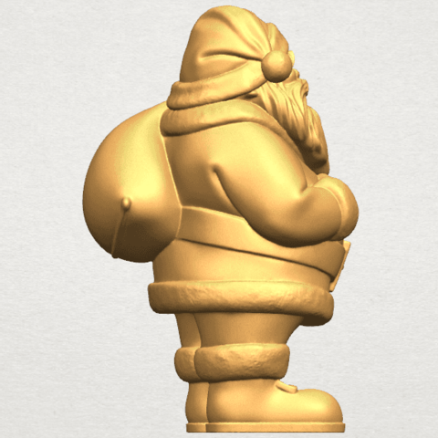 TDA0579 Santa Claus A07.png Download free STL file Santa Claus • Object to 3D print, GeorgesNikkei