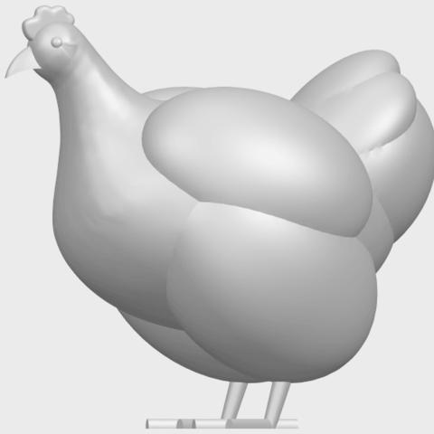 17_TDA0484_HenA03.png Télécharger fichier STL gratuit Poule • Design pour imprimante 3D, GeorgesNikkei
