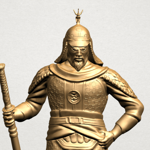 Age of Empire - warrior -B05.png Download free STL file Age of Empire - warrio • 3D print design, GeorgesNikkei