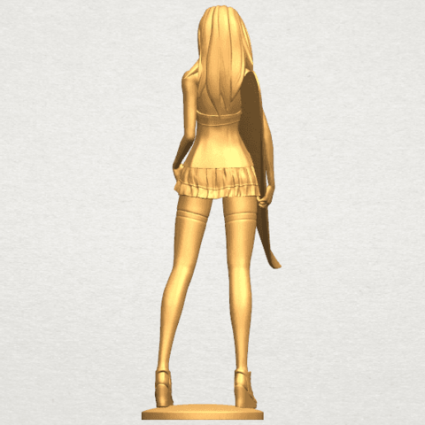 TDA0590 Girl surfing board 02 A06.png Download free STL file Girl surfing board 02 • 3D printable object, GeorgesNikkei