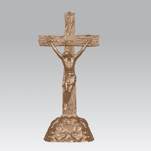 TDA0229 Jesus with cross (ii) A02.png Download free STL file Jesus with cross 02 • Template to 3D print, GeorgesNikkei