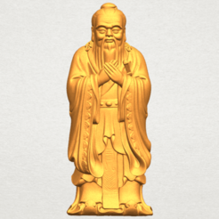 Free 3d printer designs Confucius, GeorgesNikkei