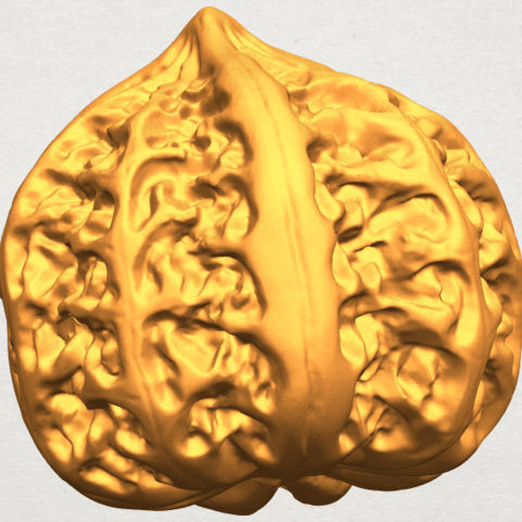 A09.png Download free STL file Walnut • 3D print object, GeorgesNikkei