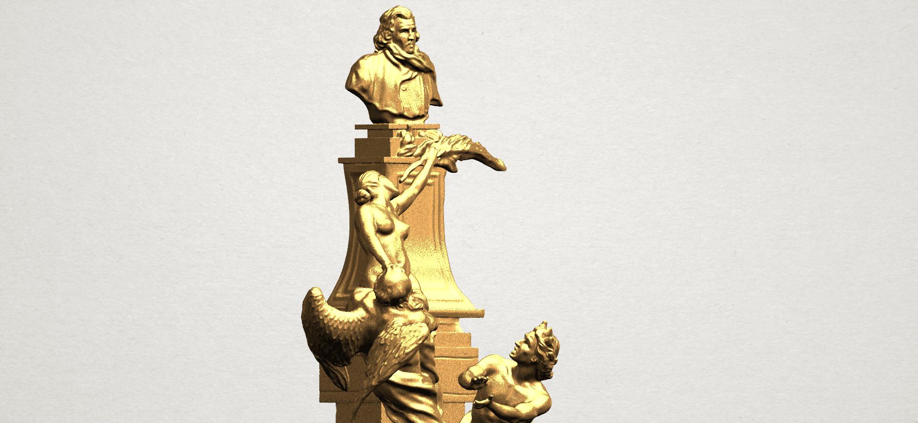 Statue 02 - A09.png Télécharger fichier STL gratuit Statue 02 • Plan pour impression 3D, GeorgesNikkei