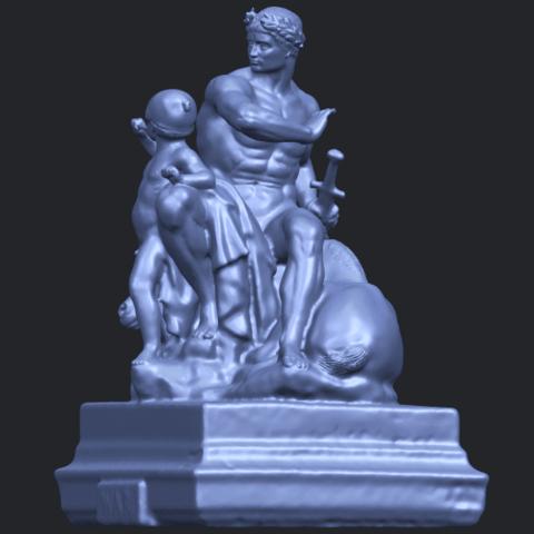 05_TDA0220_Father_and_Son_(ii)_88mmB03.png Télécharger fichier STL gratuit Père et Fils 02 • Plan à imprimer en 3D, GeorgesNikkei