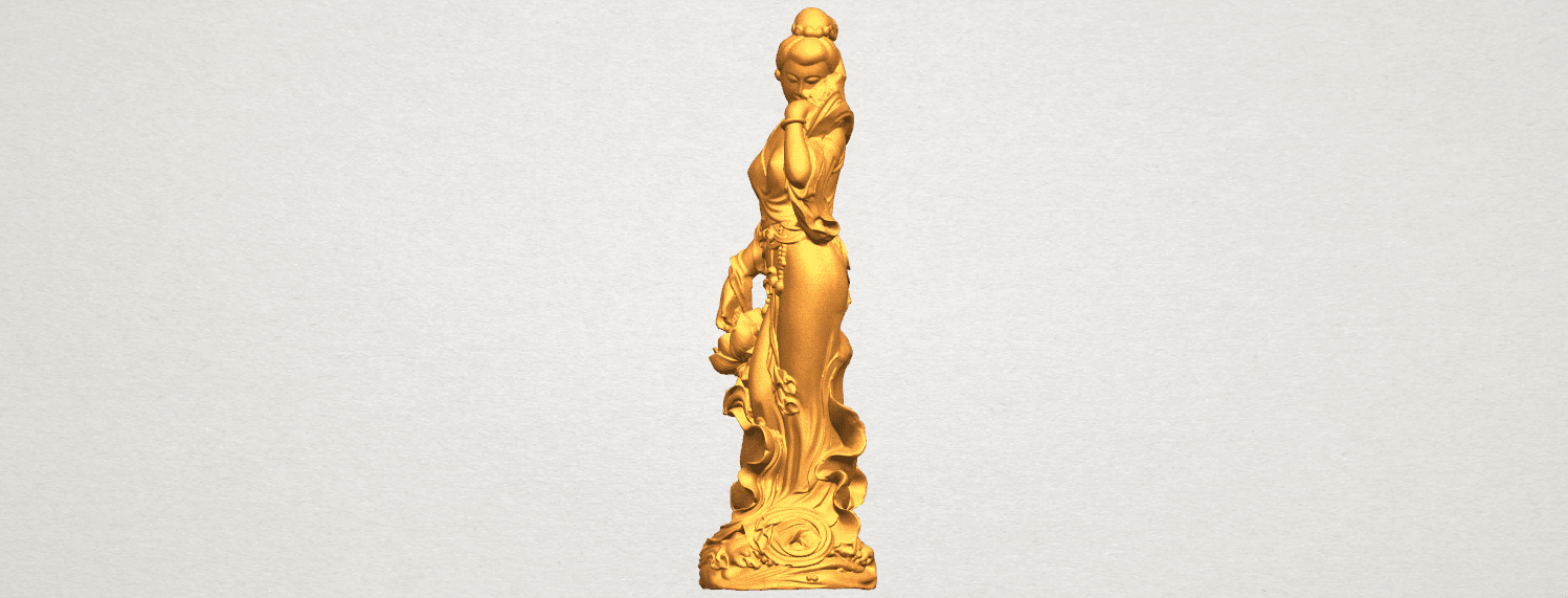 TDA0449 Fairy 04 A02.png Download free STL file Fairy 04 • Object to 3D print, GeorgesNikkei