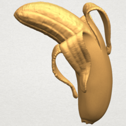 Free STL files Banana 02, GeorgesNikkei