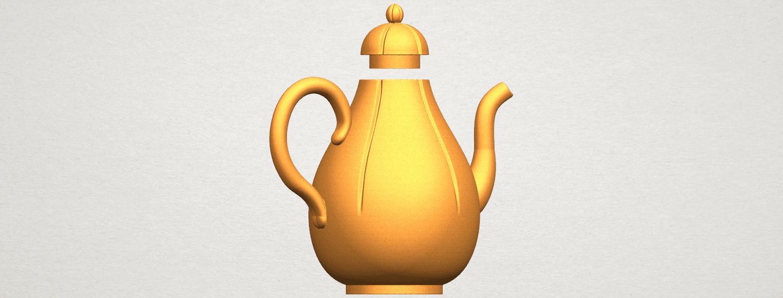 TDA0323 Tea Pot (ii) A03.png Download free STL file Tea Pot 02 • 3D printer template, GeorgesNikkei