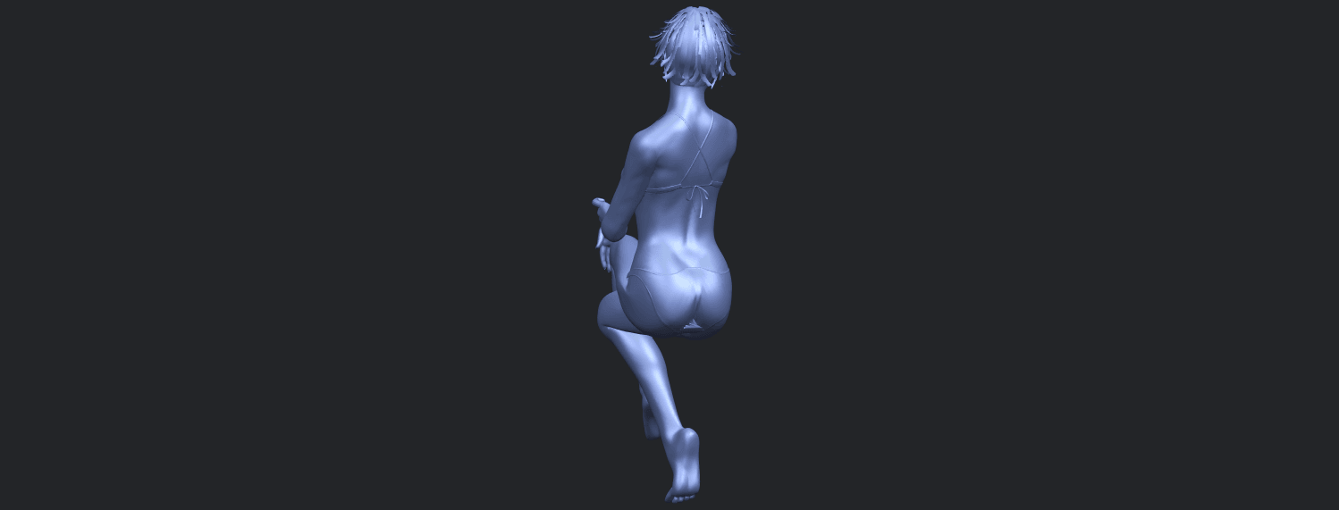 20_TDA0664_Naked_Girl_H02B09.png Download free STL file Naked Girl H02 • 3D print object, GeorgesNikkei