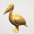 TDA0596 Pelican A09.png Download free STL file Pelican • 3D print model, GeorgesNikkei