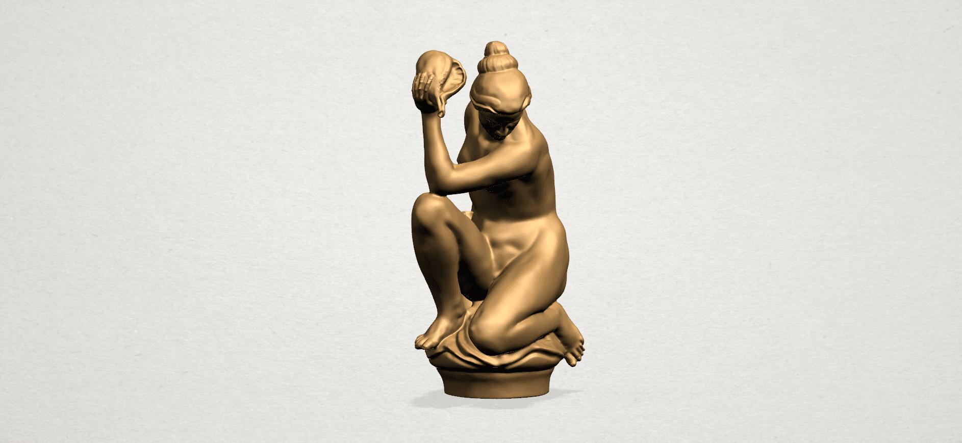 Naked Girl - With Pot - A10.png Télécharger fichier STL gratuit Fille Nue - Avec Pot • Modèle à imprimer en 3D, GeorgesNikkei