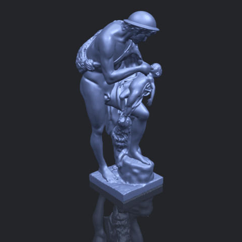 20_TDA0221_Father_and_Son_(iii)_88mmB00-1.png Download free STL file Father and Son 3 • 3D print model, GeorgesNikkei