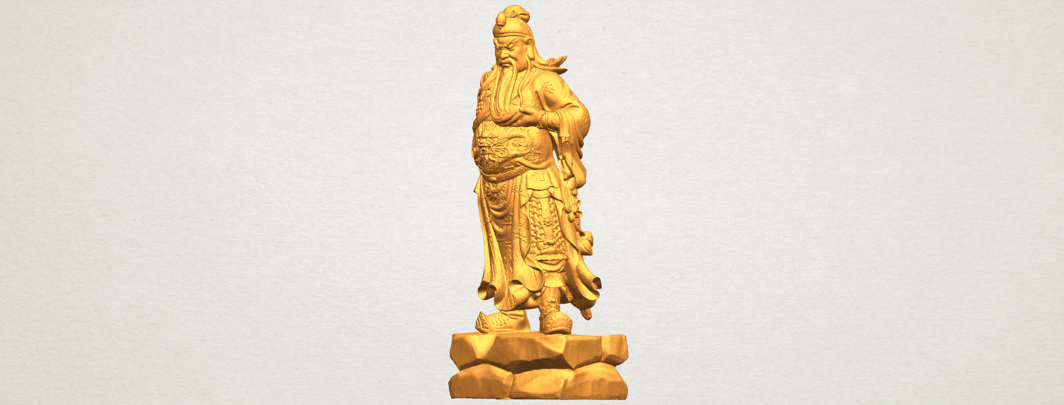 TDA0330 Guan Gong (iii) A02.png Download free STL file Guan Gong 03 • 3D printable template, GeorgesNikkei