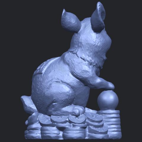 07_TDA0559_Rabbit_02B07.png Télécharger fichier STL gratuit Lapin 02 • Design imprimable en 3D, GeorgesNikkei