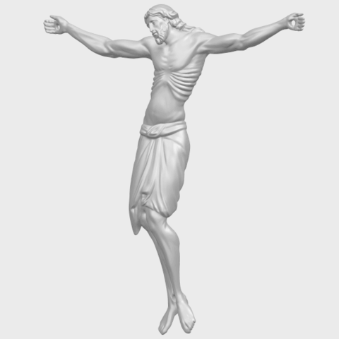 17_TDA0233_Jesus_iv_88mmA02.png Download free STL file Jesus 04 • Template to 3D print, GeorgesNikkei