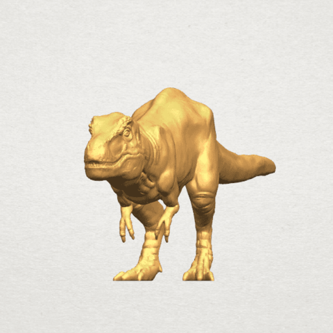 TDA0611 Tyrannosaurus A07.png Download free STL file Tyrannosaurus • 3D printing model, GeorgesNikkei