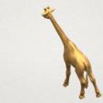 Télécharger STL gratuit Girafe, GeorgesNikkei