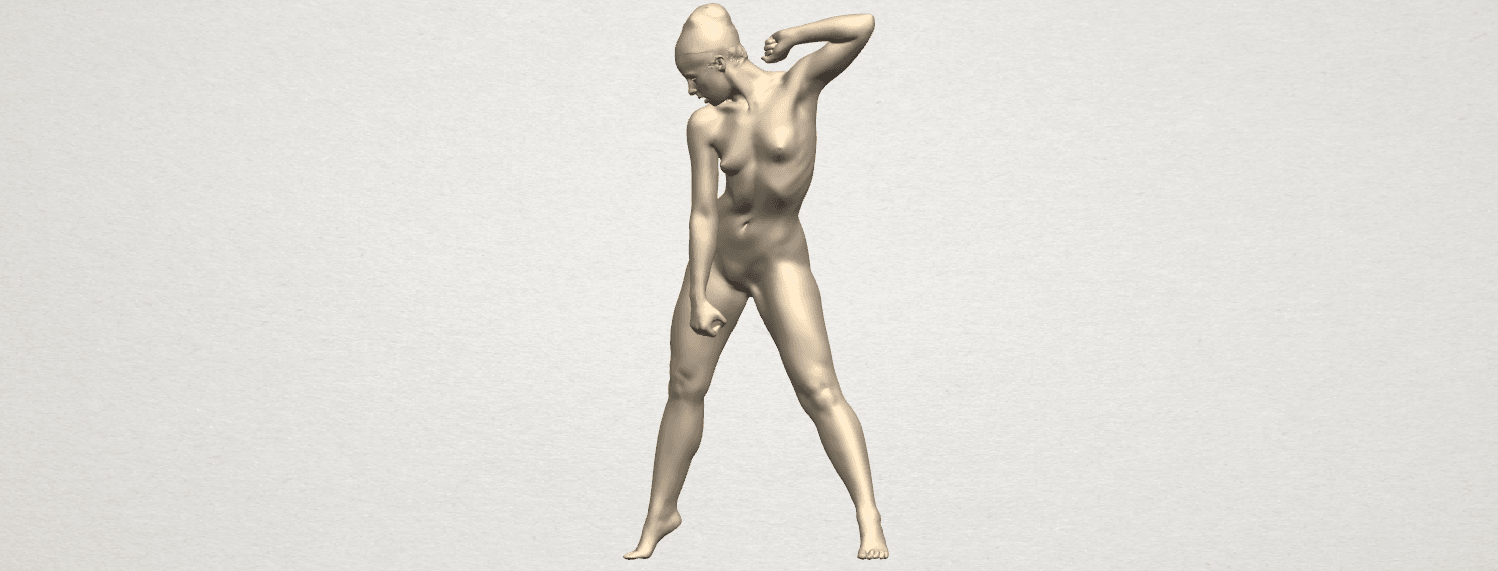 TDA0281 Naked Girl A08 02.png Download free STL file Naked Girl A08 • Template to 3D print, GeorgesNikkei