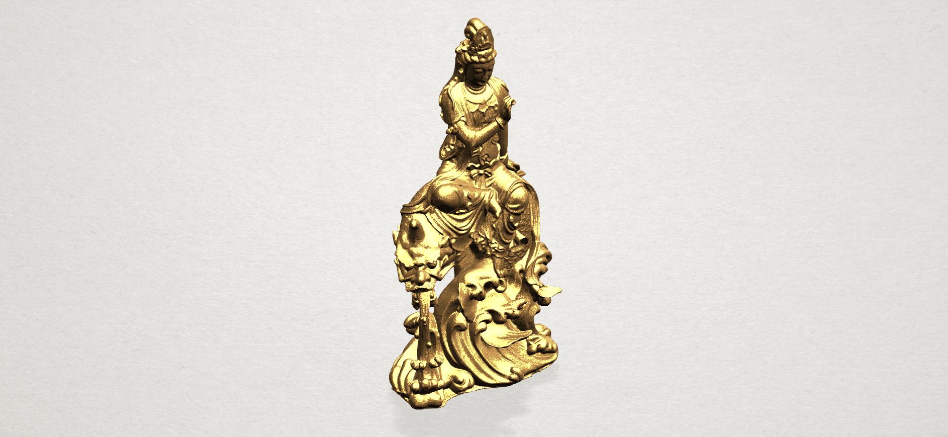 Avalokitesvara Bodhisattva (with fish) 88mm - A08.png Télécharger fichier 3DS gratuit Avalokitesvara Bodhisattva (avec poisson) 01 • Modèle imprimable en 3D, GeorgesNikkei