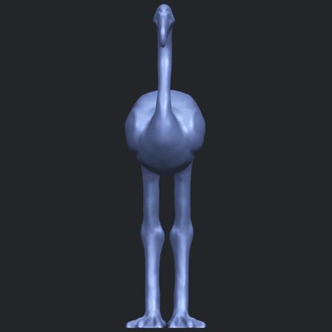 04_TDA0597_Flamingo_01B09.png Download free STL file Flamingo 01 • 3D printing model, GeorgesNikkei
