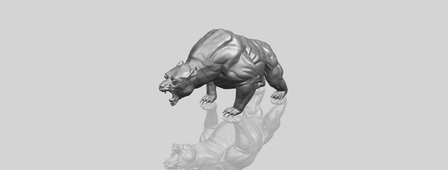 15_TDA0744_Bear_02A00-1.png Download free STL file  Bear 02 • 3D print model, GeorgesNikkei