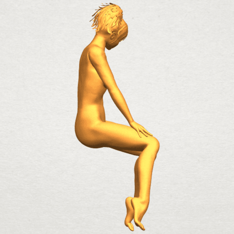 A09.png Download free STL file Naked Girl E01 • 3D printer template, GeorgesNikkei