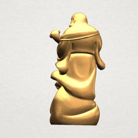 TDA0070 Metteyya Buddha 04 - 88mm - A05.png Download free STL file Metteyya Buddha 04 • 3D printable object, GeorgesNikkei