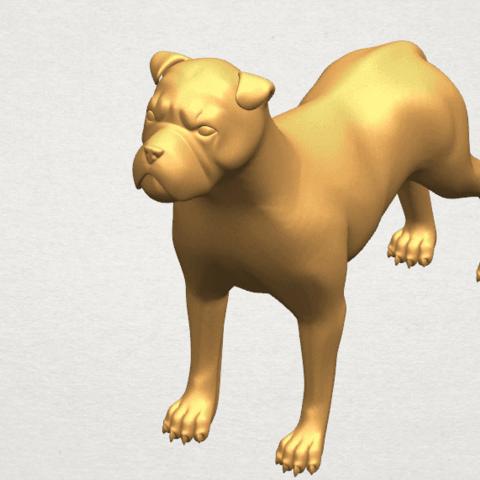 TDA0524 Bull Dog 05 A09.png Download free STL file Bull Dog 05 • 3D printer design, GeorgesNikkei